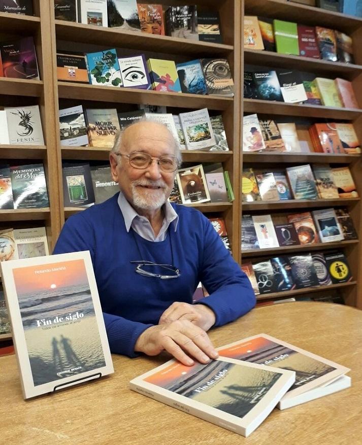 Lanzamiento Fin de siglo de Rolando Martiñá - Viví Libros